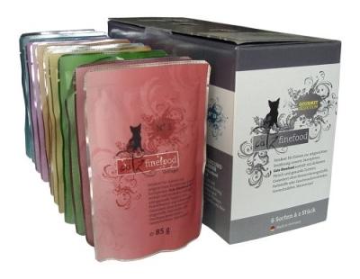 Catz Finefood Multipack Pouches No. 1 12x85 g