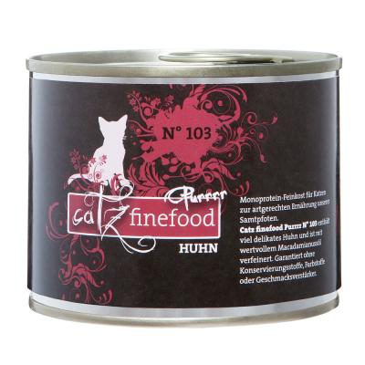 Catz Finefood Purrrr No. 103 Huhn 80 g, 750 g, 375 g, 190 g, 85 g, 800 g, 400 g, 200 g