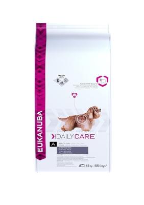 Eukanuba Daily Care Sensitive Skin, All Breed, Fish  12 kg