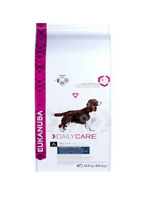 Eukanuba Daily Care Overweight/Sterilised, All Breeds, Chicken  12.5 kg