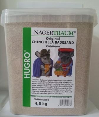 Hugro Chinchilla Badesand 4.5 kg