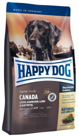 Happy Dog Supreme Canada - Salmone, Coniglio, Agnello, Patate  300 g