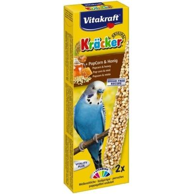 Vitakraft Kräcker Popcorn-Honig für Wellensittiche  45 g