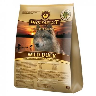 Wolfsblut Wild Duck Large Breed  15 kg, 2 kg