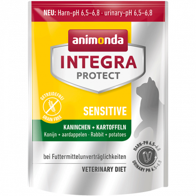 Animonda Integra Protect Sensitive Adult Carne de Iepure + Cartofi 4 kg, 300 g, 1.2 kg
