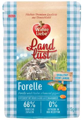 Wahre Liebe  Landlust - Forelle & Huhn 85 g