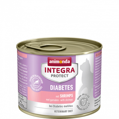 Animonda Integra Protect Diabetes Adult con Gamberi 200 g, 100 g