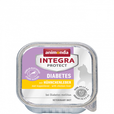 Animonda Integra Protect Diabetes Adult with Chicken Liver 100 g, 200 g