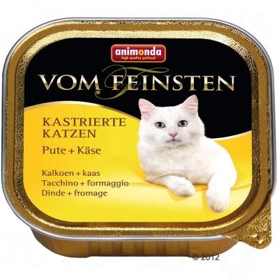 Animonda Vom Feinsten Adult Pute & Käse für kastrierte Katzen 100 g