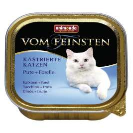 Animonda Vom Feinsten Adult for Sterilised Cats with Turkey + Trout  100 g