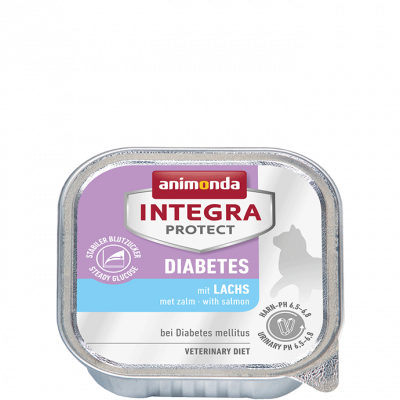 Animonda Integra Protect Diabetes Adult con Salmone 100 g, 200 g