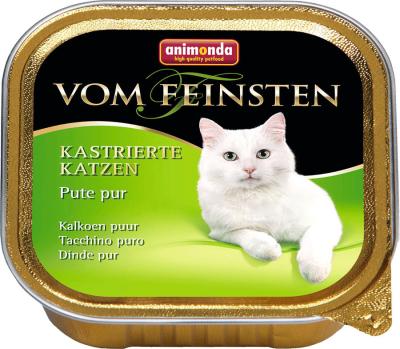 Animonda Vom Feinsten Adult Tacchino Puro per gatti castrati 100 g