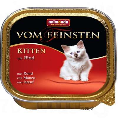 Animonda Vom Feinsten Kitten mit Rind 100 g