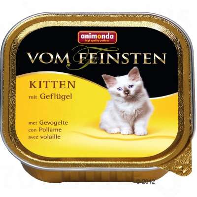 Animonda Vom Feinsten Kitten with Poultry 100 g