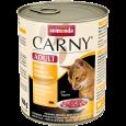 Carny Adult - Manzo, Pollo + Cuorcini d'Anatra 800 g da Animonda