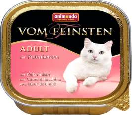 Vom Feinsten Adult with Turkey hearts Animonda 4017721832038