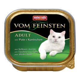 Vom Feinsten Adult with Turkey & Rabbit Animonda 4017721832052
