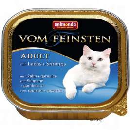 Vom Feinsten Adult mit Lachs + Shrimps Animonda  4017721832021