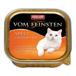 Vom Feinsten Adult with Poultry & Veal Animonda 4017721832007