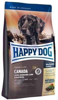 Happy Dog Supreme Sensible Canada avec Saumon, Lapin, Agneau & Pomme de terre  300 g, 12.5 kg, 1 kg, 4 kg, 10 kg