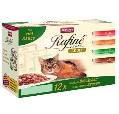 rafin soup adult multipack 12 sachets de chez animonda 12x100 g achetez pas cher en ligne. Black Bedroom Furniture Sets. Home Design Ideas
