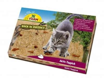 JR Farm Cat Back to Instinct Aktiv-Teppich Braun