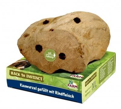 JR Farm Back to Instinct Kauwurzel mit Rind XL 750 g Rindfleisch