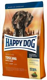 Happy Dog Supreme Sensible Toscana con Pato & Salmón  4 kg