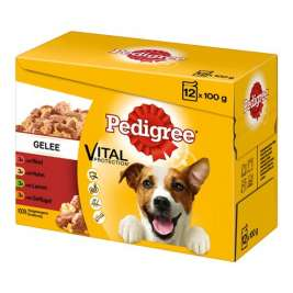 Multipack Adult in Gelee von Pedigree 12x100 g EAN: 5900951249341