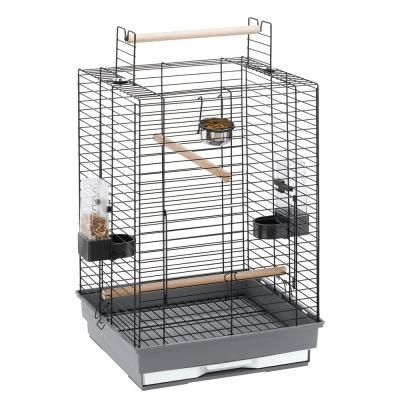 Ferplast Cage - Max 4 Black 50x50x75 cm