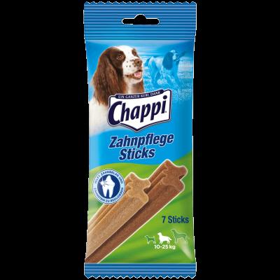 Chappi Snack Cuidado dental para perros medianos 175 g Vacuno & Aves de corral