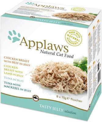 Applaws Tasty Jelly Selection - Multipack 6x70 g