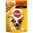 Pedigree Vital Protection Turkey and Carrot in Sauce 100 g Billig
