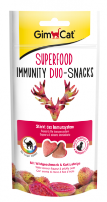 GimCat Superfood Immunity Duo-Snacks 40 g