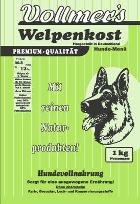 Vollmers Welpenkost - Ohne Weizen 1 kg