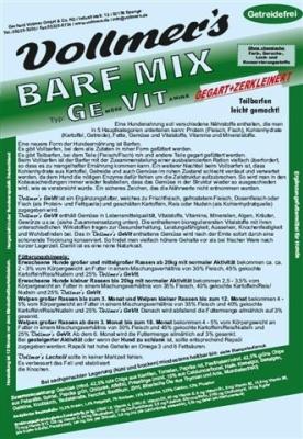 Vollmer's Barf Mix - GeVit  800 g