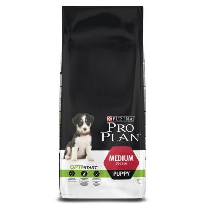 Purina Pro Plan Medium Puppy - Optistart runsaasti Kanaa 12 kg
