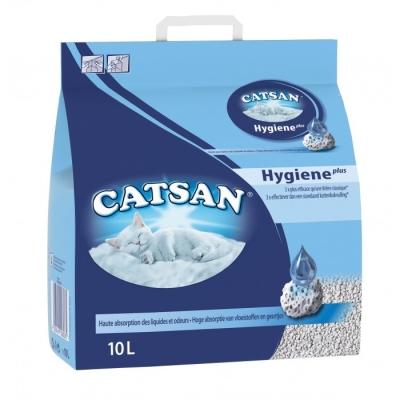 Catsan Hygiene Plus Katzenstreu 5 kg 10 l