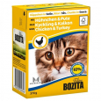 Bozita Chunks in Sauce with Chicken and Turkey 370 g - Ruokaa varten kissanpennun