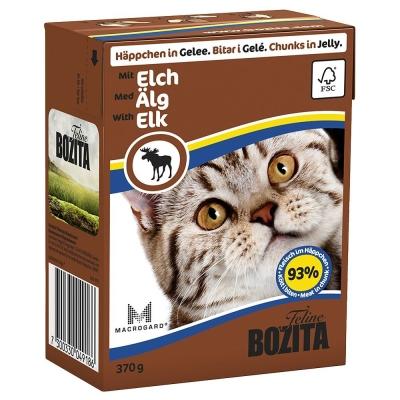 Bozita Bouchées en Gelée Élan 370 g