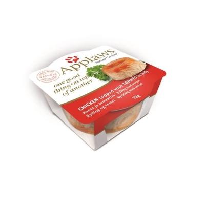 Applaws Cat Schale Hühnerfleisch mit Tomate 70 g