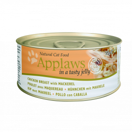 Applaws Chicken with Mackerel in Jelly  70 g