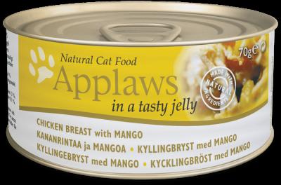 Applaws Cat Dose Kananrinta & Mango hyytelössä 70 g