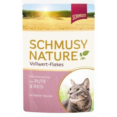 Schmusy Nature Vollwert Flakes Pute & Reis 100 g