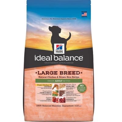 Hill's Ideal Balance Canine - Adult Large Breed Kana & Ruskea Riisi  2 kg, 12 kg