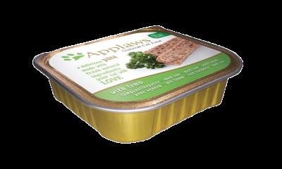 Applaws Cat Schale Pate mit Lamm 10x100 g, 100 g