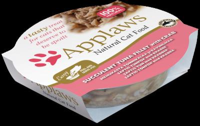 Applaws Cat Pots - Thunfischfilet & Krabben 60 g