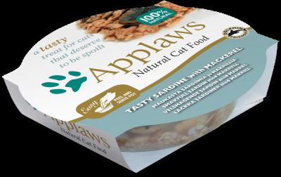 Applaws Cat Pots - Sardinen und Makrelen 60 g