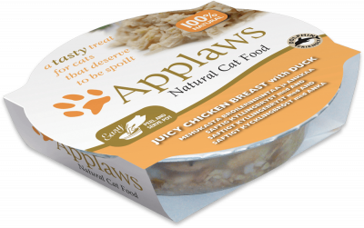 Applaws Cat Pots - Piept de Pui cu Rață 60 g