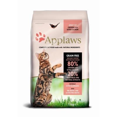 Applaws Adult – Hühnchen & Extra Lachs 400 g, 2 kg, 7.5 kg, 1.8 kg, 350 g, 6 kg